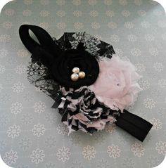 Flower headband by SESSOOOPRETTY on Etsy, $9.25