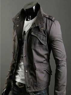 Mens jacket. | Raddest Men's Fashion Looks On The Internet: http://www.raddestlooks.org