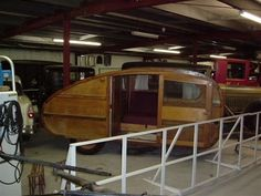old teardrop trailers | Cabin Car Teardrop trailer pics in Favorite Vintage Trailer Pictures ...