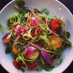 715 Restaurant -  Tomato Salad w Bottarga