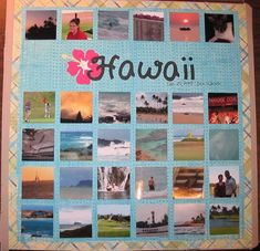01 Hawaii album title page Cruise Scrapbook, Travel Scrapbook Pages, Scrapbook Supplies, Scrapbooking Layouts, Digital Scrapbooking, Travel Album, Paradise Cove, Title Page, Travel Aesthetic