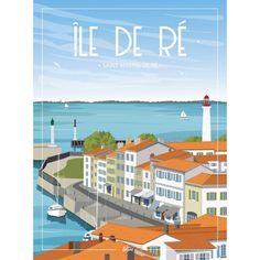 Saint Martin, Portrait, Illustration, Cities, Destinations, Image, France, Tourism, Illustrations