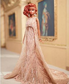 Zlatan Zukanovic, one of the designers from Mattel, has shared on his Instagram this INCREDIBLE OOAK Parisian Glamour Barbie Doll he has designed for the National Barbie Doll Collectors Convention's charity auction. *jaw drop* I have nothing more to add. Nothing...
