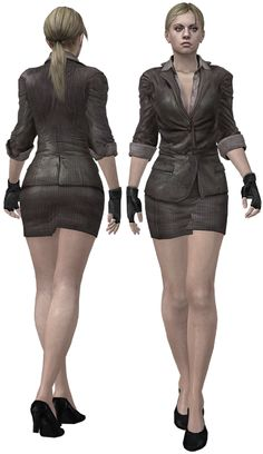jill valentine love interest