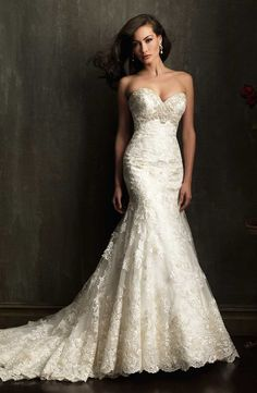 Wedding Dress - Belle the Magazine . The Wedding Blog For The Sophisticated Bride Allure Bridal 9051