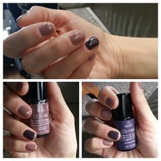 Ringfinger: Striplac 67 dusty purple, Others: autuum/winter special edition striplac CLASSIC STARS ROSY WIND💖 Dusty Purple, Love Nails, Hair Makeup, Nail Polish, Make Up, Stars, Classic, Winter, Beauty