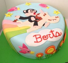 This magical Julius and Dazzle cake from Angel D. is a #PaulFrank fan's dream come true! Who else wants a slice?