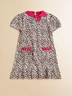Hartstrings Toddler's & Little Girl's Animal Print Sweater Dress