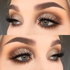 """1,559 Likes, 9 Comments - @helenesjostedt on Instagram: """"No  I used @makeupaddictioncosmetics vintage palette (shadows: dirty brown and cocoa lace)  …"""""""