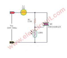 The AC light dimmer circuit can control light bulb or speed AC motor, we use a TRIAC and SCR as main, and adjust potentiometer and switch. Electronic Circuit Projects, Electronics Projects, Ac Fan, Power Supply Circuit, Electric Circuit, Electronic Schematics, Motor Speed, Dim Lighting, Super Star