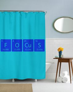 Element Of Focus Shower Curtain