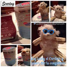 Lenny el Cordero, el scentsy Buddy clip que huele a fresía, lavanda y arvejilla. Contacta si te interesa al correo quebienhuelealv@gmail.com o visita https://quebienhuelealv.scentsy.es #quebienhuelealv #scentsybuddyclip #lennyelcordero