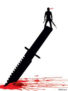 Rambo Knife Edge by artist Tom kelly by TomKellyART on DeviantArt Arnold Movies, Rocky Balboa Poster, Breaking Bad Tattoo, Sylvester Stallone Rambo, Rambo Knife, Blood Wallpaper, Silvester Stallone, Hollywood Poster, Knife Drawing