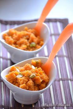Carrot Halwa - One of my favorite Indian desserts!