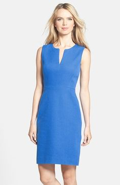 kate spade new york 'emrick' cotton sheath dress   Nordstrom