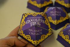Chocolate frog box Frog AND Harry Potter!!