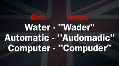 Aula de Inglês - Pronúncia e Diferenças Britânico e Americano