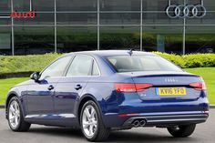 Used 2016 Audi A4 2.0 TDI Ultra 190 Sport 4dr S Tronic for sale in South…
