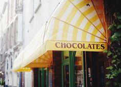 Antwerp, Belgium.  No better chocolate in the world.
