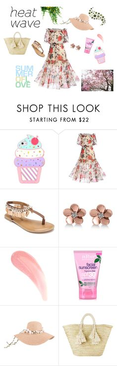 """""""Breezy"""" by musicajla ❤ liked on Polyvore featuring WithChic, Penny Loves Kenny, Allurez, Alba Botanica, Giselle, Summer and heatwave"""