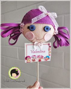 Wal Artesanal o site do feltro: As Lalaloopsy´s da Valentina...