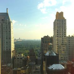 BEST HOTEL VIEW IN NEW YORK CITY SO FAR!