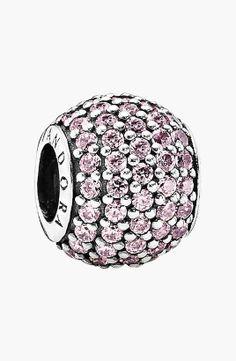 Pandora | 'Pavé Lights' Bead Charm #pandora #bead #charm
