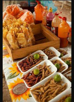 Quinceanera Party Planning – 5 Secrets For Having The Best Mexican Birthday Party Mexican Candy Table, Mexican Snacks, Mexican Party Decorations, Mexican Food Recipes, Mexican Food Buffet, Mexican Chips, Birthday Decorations, Mexican Fiesta Birthday Party, Fiesta Theme Party