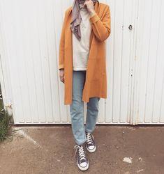 Uni Fashion, Street Hijab Fashion, Japan Fashion, Fashion Pants, Fashion Outfits, Fashion Ideas, Islamic Fashion, Muslim Fashion, Modest Fashion