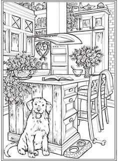 Welcome to Dover Publications – Coloring - Malvorlagen Mandala Dover Coloring Pages, Blank Coloring Pages, House Colouring Pages, Detailed Coloring Pages, Dog Coloring Page, Pattern Coloring Pages, Coloring Book Art, Printable Adult Coloring Pages, Coloring Sheets