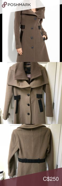 Mackage Nola Trim coat Size xs, excellent condition , fits like xxs Made in Canada Mackage Jackets & Coats Mackage Jacket, Plus Fashion, Fashion Tips, Fashion Trends, Military Jacket, Jackets For Women, Canada, Coats, Closet
