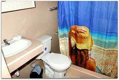 Detalle del baño de la habitación 1. Trinidad, Curtains, Shower, Bathroom, Prints, Rain Shower Heads, Washroom, Blinds, Full Bath