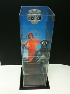 Custom Acrylic Display Case for Golf Rangefinders Acrylic Display Case, Display Stands, Golf, Cases, Consignment Displays, Turtleneck