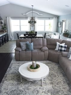 Have you ever struggled to keep your layered rugs flat? I've found an easy way to layer rugs without dealing with bunching, sliding or puckering!
