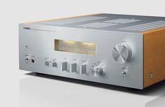 Yamaha A-S1100: Stereo-Amplifier, VU-Meter, HiFi