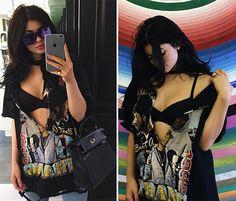 Polêmica fashion: as t-shirts customizadas de Kendall e Kylie Jenner