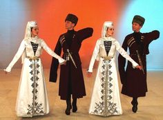 North Caucasus people Ingushetia traditional costume ingush - lots of great costume pictures in the link