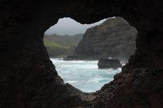 Heart Hole in Rock