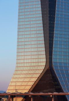 Zaha Hadid's best buildings photographed by Hufton + Crow. Pictured: CMA CGM Headquarters, Marseille, 2010