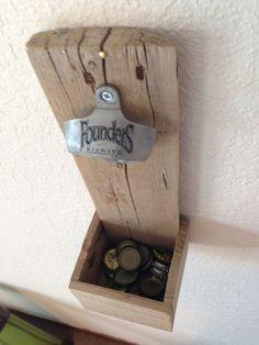 Wood Pallet Coat Rack Water Faucet Knobs / by TheRustyWheel