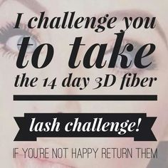 Younique 3D Fiber mascara is awesome! It makes your lashes as long and as full as you want.  Younique has a 14 day Love 'em or return them  guarantee.  Order yours today! www.youniqueproducts.com/ellawilmer