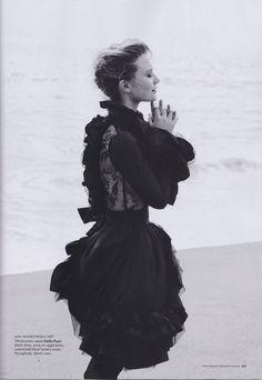 Mia Wasikowska in Harper's Bazaar Australia August 2011.
