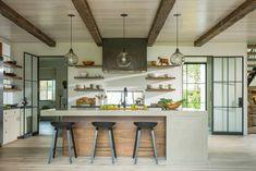 41 Kitchen Concrete Countertop Ideas