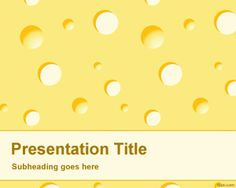 Ppt template recipes to cook pinterest ppt template and ppt design cheese powerpoint template is a free ppt template with cheese background effect in the slide design toneelgroepblik Choice Image