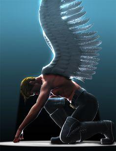 Xmen - Angel by archangelgabriel.deviantart.com