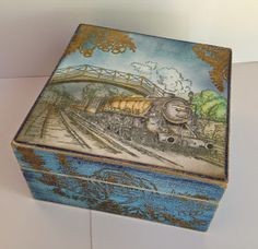 Donna's Little Crafty Corner: All Aboard....