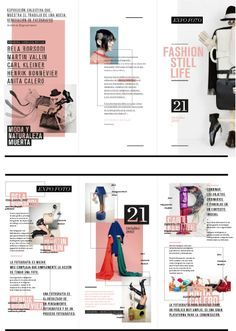 Laura Guarie on Behance Editorial Design Layouts, Page Layout Design, Magazine Layout Design, Mode Inspiration, Graphic Design Inspiration, Magazine Examples, Mise En Page Magazine, Yearbook Design, Yearbook Ideas