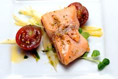 Top Chef Season 10 - Fennel Pollen Dusted Salmon with Fennel, Radish, and Tarragon Salad - Recipe - Bravo TV Official Site