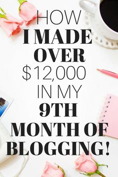 How I Made Over $12,