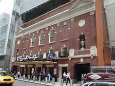 The Stephen Sondheim Theatre as the home of Anything Goes